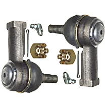 Tie Rod End - Front Driver and Passenger Side, Outer, Set of 2