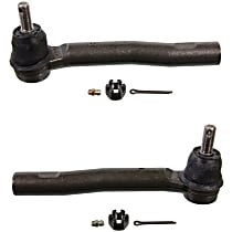 Tie Rod End Front Driver and Passenger Side, Outer