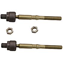 SET-MOEV800715 Tie Rod End - Front Driver and Passenger Side, Inner