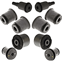 SET-MOK200270 Control Arm Bushing - Front, Upper and lower, Frontward and Rearward Arm, Set of 7