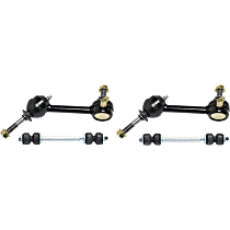 Sway Bar Link - Front and Rear, Driver and Passenger Side, Set of 4