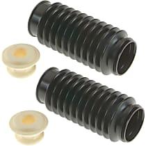 SET-MOK90462 Shock and Strut Boot - Black, Strut boot, Direct Fit, Set of 2
