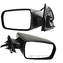 Mirror - Driver and Passenger Side (Pair), Power, Heated, Textured Black