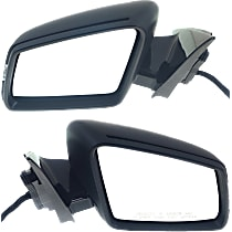 Kool Vue Power Mirror, Driver and Passenger Side, Power Folding, Heated, w/ Memory, Signal and Puddle Light, Paintable