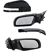 Mirror - Driver and Passenger Side (Pair), Power, Folding, Paintable, With Turn Signal, Sedans With Convenience Package