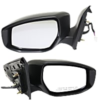 Power Mirror, Driver and Passenger Side, Non-Folding, Heated, w/ Signal, Paintable