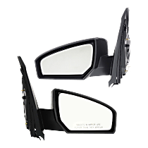 Power Mirror, Driver and Passenger Side, Non-Heated, Non-Folding, Paintable