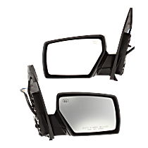 Mirror - Driver and Passenger Side (Pair), Power, Heated, Paintable, With Memory and Puddle Lamp