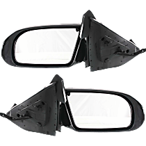 Mirror - Driver and Passenger Side (Pair), Power, Heated, Paintable, With Turn Signal, For Models With Premium Package