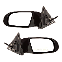 Mirror - Driver and Passenger Side (Pair), Power, Paintable, With Turn Signal, and Memory, For Premium Package & Sport Package
