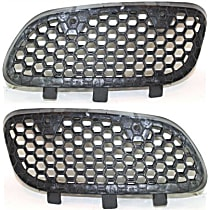 Grille Assembly - Textured Black Shell and Insert, Driver and Passenger Side