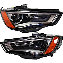 HID/Xenon Headlight, Without bulb(s)