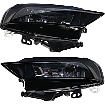 Fog Light Assembly - Driver and Passenger Side, (Convertible, without S-Line Package)/Sedan