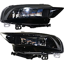 Fog Light Assembly - Driver and Passenger Side, (Convertible, without S-Line Package)/Sedan, CAPA CERTIFIED