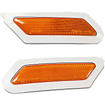 CAPA Certified Front, Driver and Passenger Side Bumper Reflector