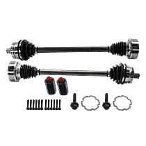 Axle Assembly - Front, Driver and Passenger Side