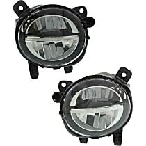 Fog Light Assembly - Driver and Passenger Side, LED