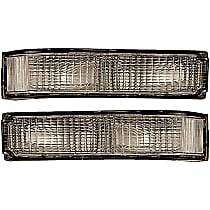 Driver and Passenger Side Turn Signal Light, Without bulb(s)
