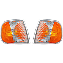 SET-RB1630260 Front, Driver and Passenger Side Turn Signal Light, Without bulb(s)