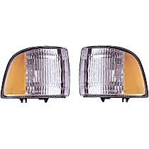 SET-RB1630402-F Driver and Passenger Side Turn Signal Light, Without bulb(s)