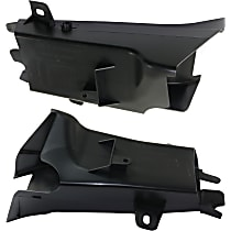 Replacement Air Intake Duct Radiator Support Air Intake Duct - SET-RB16330003, Direct Fit