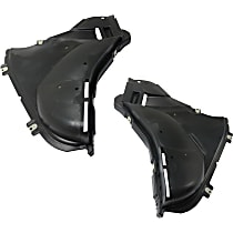 Fender Liner - Front, Driver and Passenger Side, Front Section, without M Package