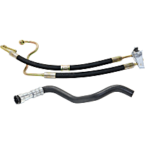 Power Steering Hose - Pump To Steering Rack; Cooling Coil To Reservoir