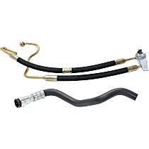 Power Steering Hose - Pressure Hose and Return Hose, Pump To Steering Rack; Cooling Coil To Reservoir