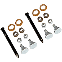 Dorman SET-RB38401-2 Door Hinge Repair Kit - Direct Fit, Set of 2