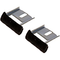 Window Guide - Direct Fit, Set of 2