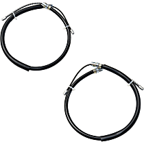 Parking Brake Cable - Direct Fit, Set of 2