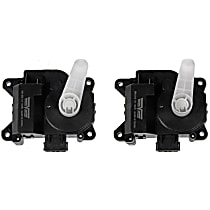 HVAC Heater Blend Door Actuator - Set of 2