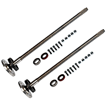 Rear, Driver and Passenger Side Axle Shaft