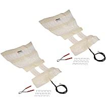 SET-RB641207-2 Seat Heat Pad - Carbon Fiber, Direct Fit, Set of 2