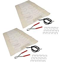 SET-RB641208-2 Seat Heat Pad - Carbon Fiber, Direct Fit, Set of 2
