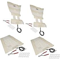 SET-RB641208 Seat Heat Pad - Carbon Fiber, Direct Fit, Set of 4