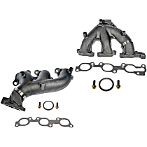 Exhaust Manifold - Front and Rear