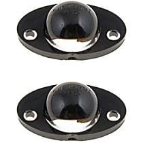 SET-RB68164-2 License Plate Light Lens - Direct Fit, Set of 2