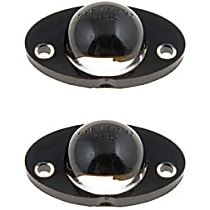 License Plate Light Lens - Direct Fit, Set of 2