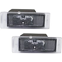 Replacement SET-RB73290003-2 License Plate Light - Direct Fit, Set of 2