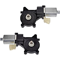 Window Motor, New Front or Rear, Driver and Passenger Side
