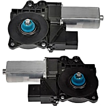 SET-RB742456-R Rear, Driver and Passenger Side Window Motor, New