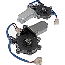 Window Motor, New Front and Rear, Driver and Passenger Side