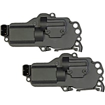 Door Lock Actuator Front and Rear, Driver Side