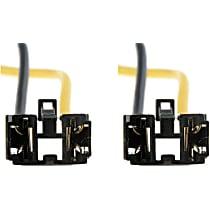 Dorman SET-RB84717-2 Bulb Socket - Headlight, Direct Fit, Set of 2