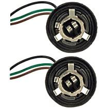 SET-RB85821-2 Bulb Socket - Turn signal light, Direct Fit, Set of 2