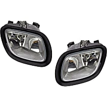 SET-RB8885207 Front, Driver and Passenger Side Fog Light, With bulb(s)