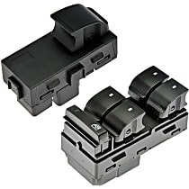 Window Switch - Front, Driver Side; Rear, Driver or Passenger Side
