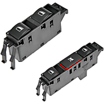 SET-RB901525-F Window Switch - Front, Driver and Passenger Side