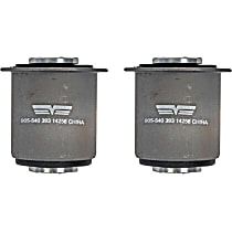 SET-RB905540 Axle Support Bushing - Rubber, Direct Fit, Set of 2